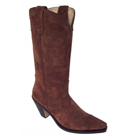 traditional brown western boots for made to measure