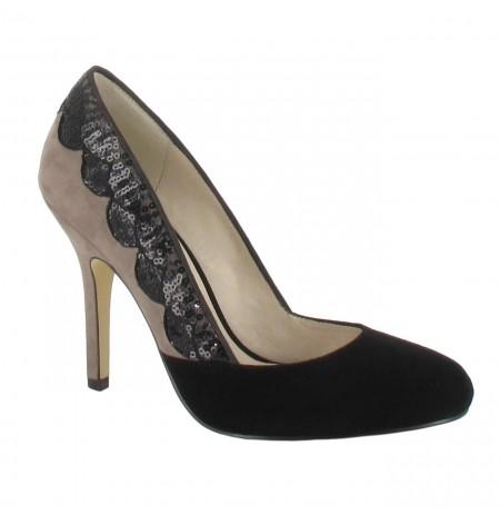 elegant two coloured high heels shoes made 4 me. Black Bedroom Furniture Sets. Home Design Ideas