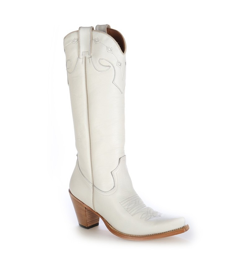 white mexican style boots white cowboy shoes