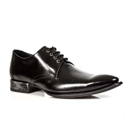 Leather lace-up formal shoes for men