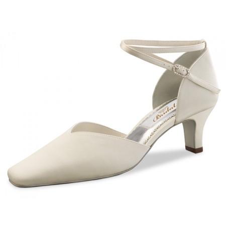 Classic Ivory bridal comfort pump