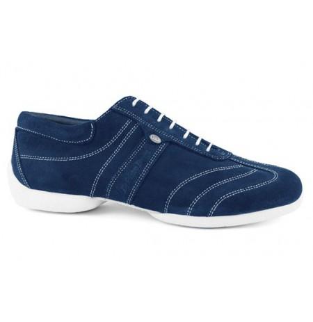 Blue navy nobuk sneakers