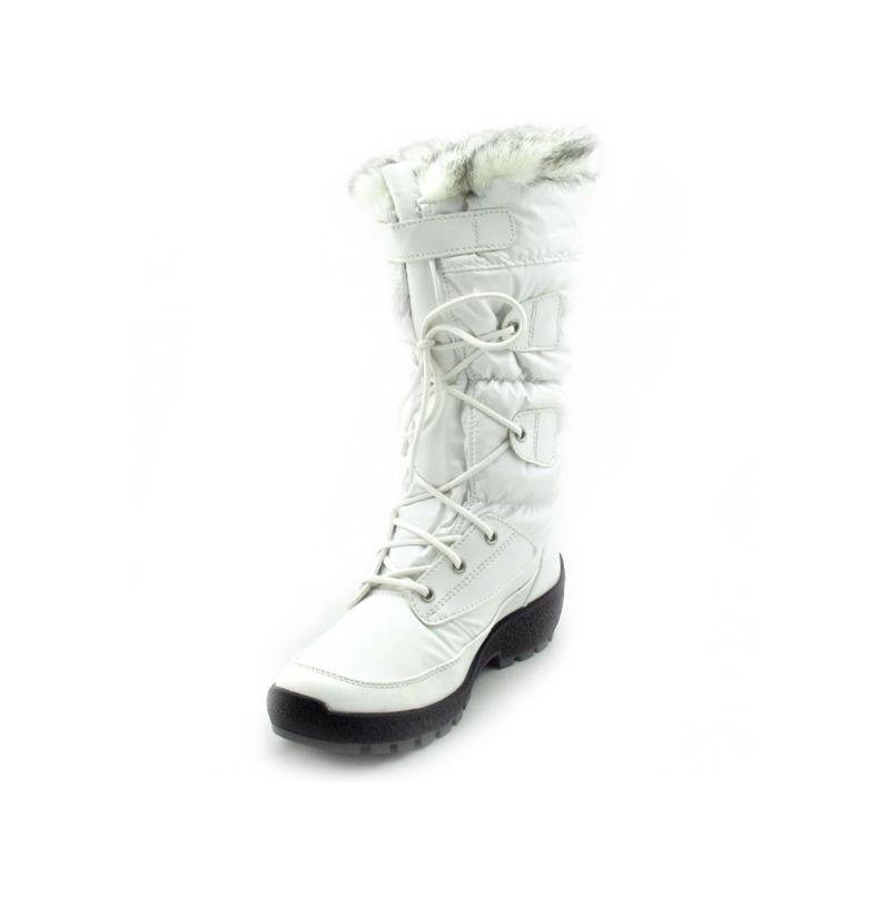 Womens white winter snow boots mount mercy university