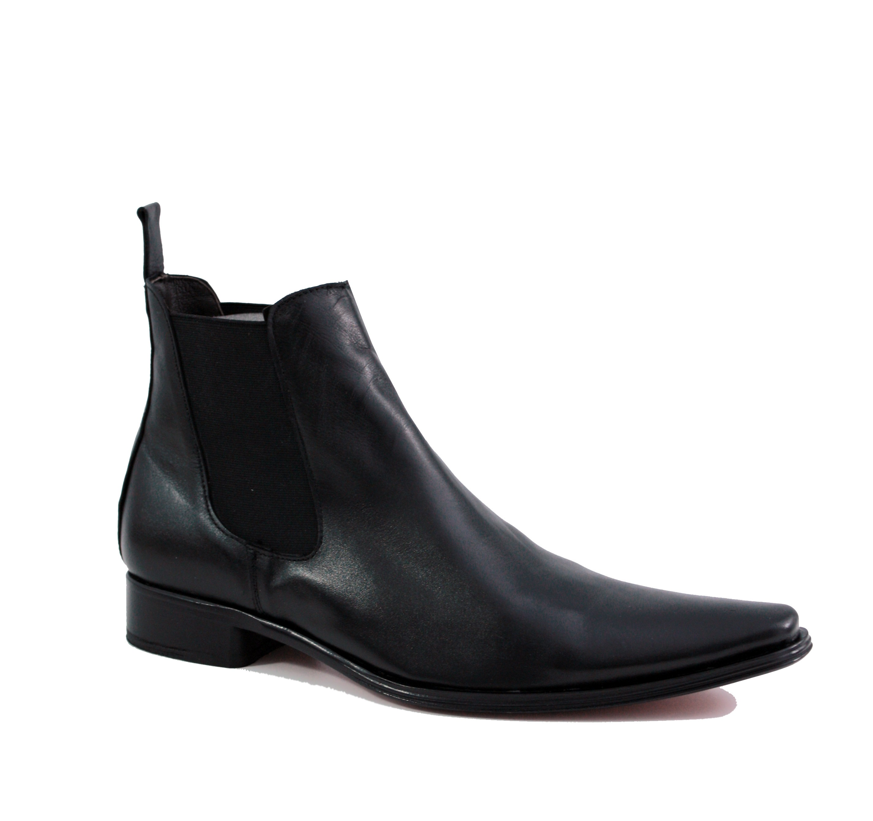 Elegant ankle boots for men Trendy mens ankle boots Metal heels