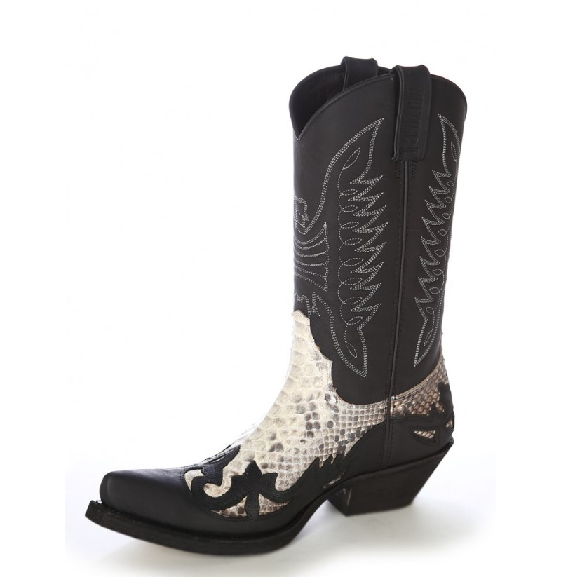 REAL SNAKESKIN LEATHER COWBOY BOOTS Python leather western unisex ...