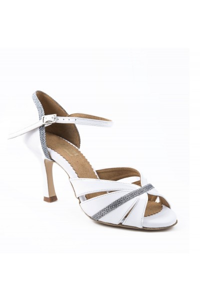 White Silver Sandals For Wedding