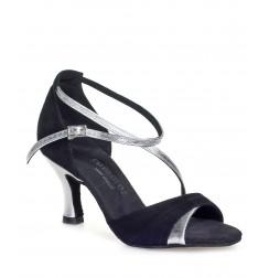 Chaussures danse salomé argent