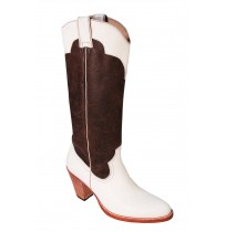 Original cowboy leather boots for women