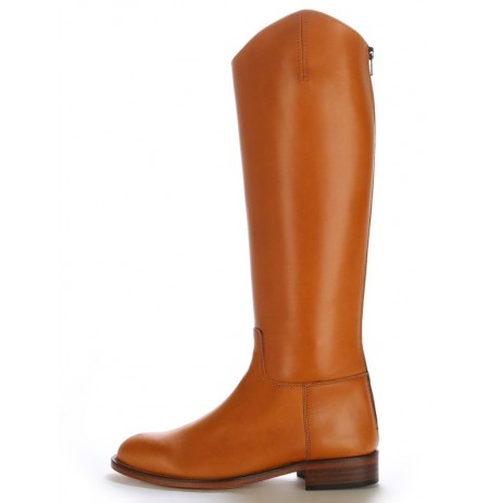 equestrian camel leather spanish boots camel leather dressage boots