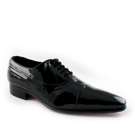 Black Patent Leather Ballroom Dancing Shoes