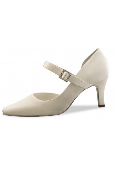 Classic Ivory bridal comfort shoe