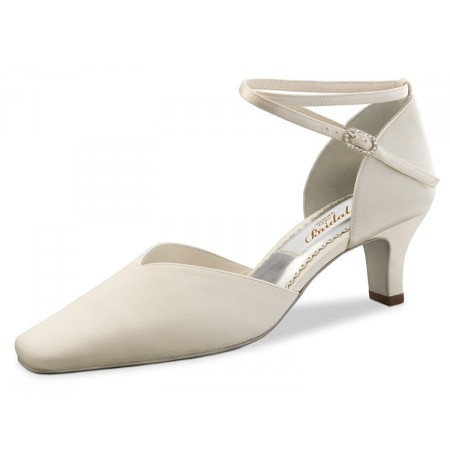 Classic Ivory bridal comfort pump heels for sale