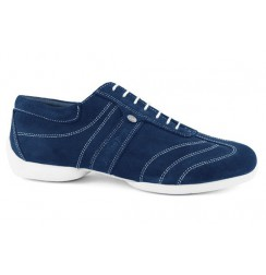Blue navy nobuk sneakers