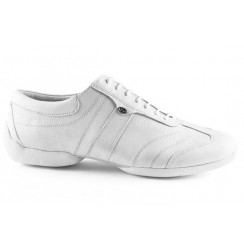 White leather man sneakers