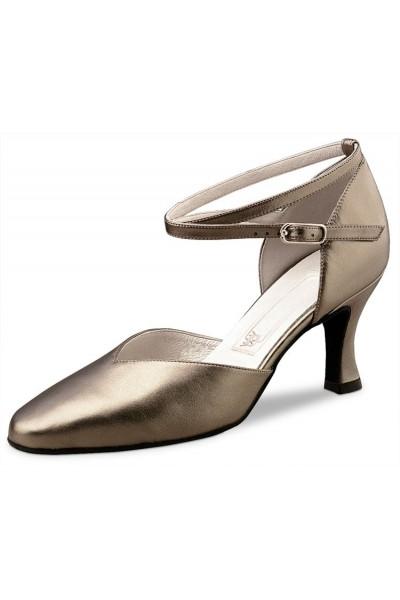 Antik leather closed toe dancing shoe