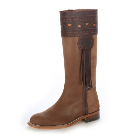 Spanish nubuck boots
