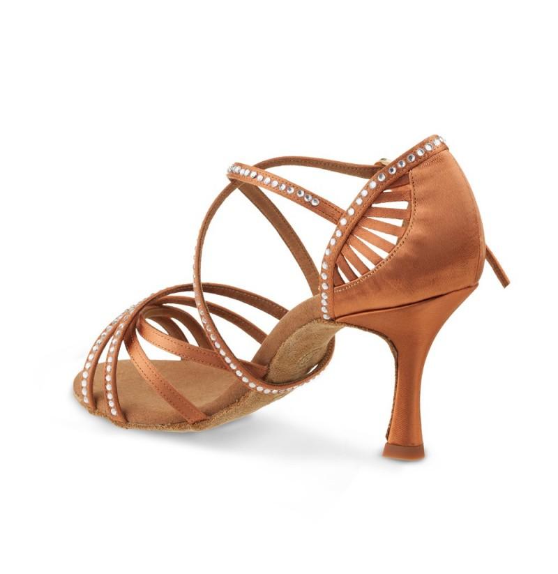 Dance Shoes Sports & Entertainment Tango Dance Shoe Rhinestone Latin Shoes For Women Ladies Comfort Salsa Shoes Latin Heels Ballroom Bronze Dance Shoes Idancing
