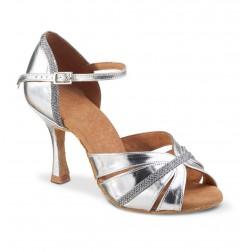 Smart silver wedding heels