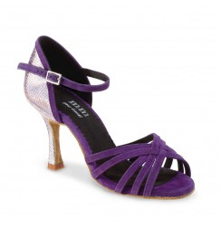 Dark Purple heels for women