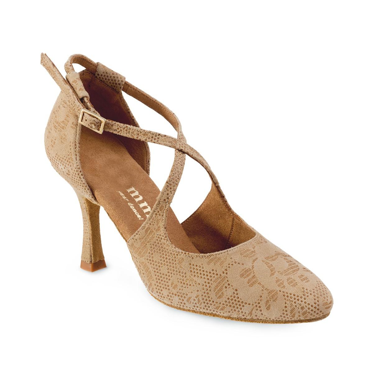 7319e928395 Nude lace wedding heels LADIES COMFORTABLE HIGH HEELS IN BEIGE LACE