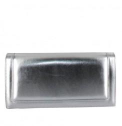 Black and white leather mini satchel bag by Stella Rittwagen