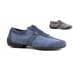Denim dance sneakers for men