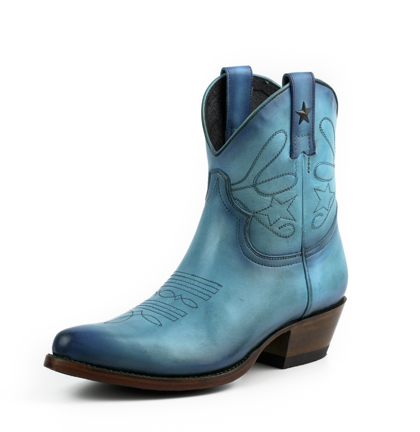 WOMEN Turquoise cowboy boots