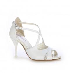 Fuchsia T-strap heels