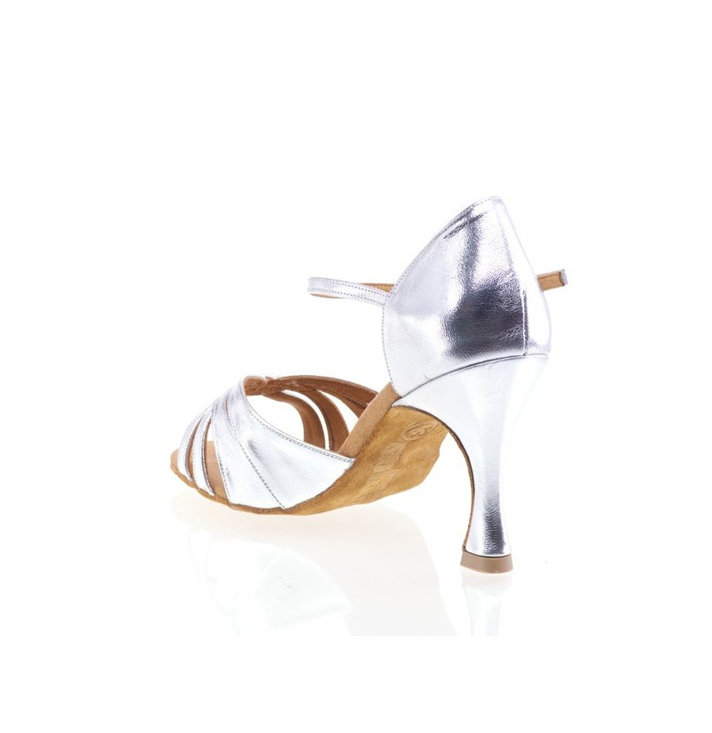 a4bff902dfd High quality leather bridal heels COMFY SILVER HEELS WITH CUSHIONED ...