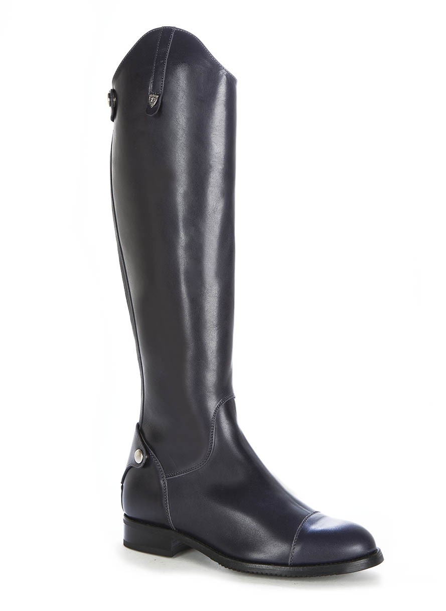 RIDING BOOTS STYLE Blue navy boots