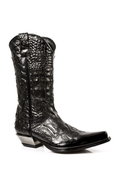 and silver snake cowboy boots for men