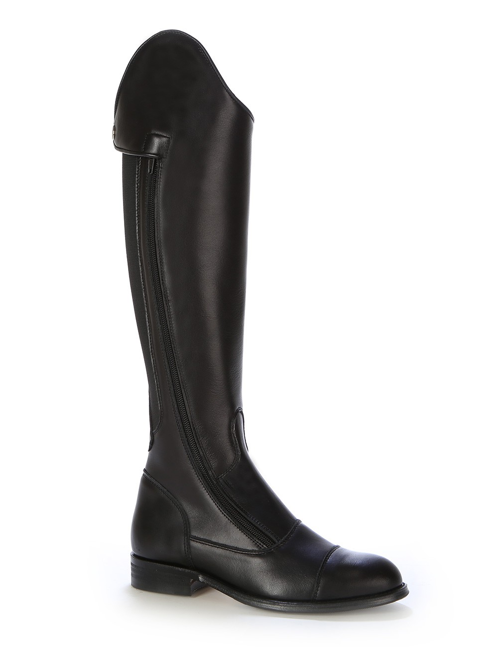 Made To Measure Black Leather Dressage Boot For Horse Riding Black Leather Horse Riding Boots For Men And Women