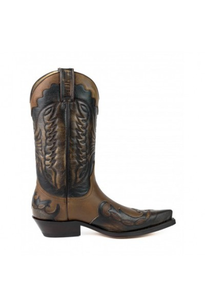 Two-tone original western boots