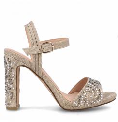 Diamond platform heels for weddings