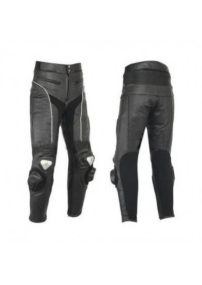 Leather bike pants